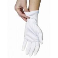Перчатки хлопковые  размер (L) 12 пар безшовные