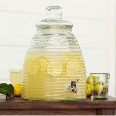 Лимонадник (Банка - емкость с краном) «Проотель»; стекло; 5.5л